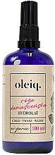 Düfte, Parfümerie und Kosmetik Damastrosenhydrolat für Gesicht, Körper und Haar - Oleiq Damask Rose Hydrolat