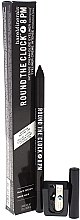 Düfte, Parfümerie und Kosmetik Kajalstift mit Anspitzer - Bare Escentuals Bare Minerals Round The Clock Intense Cream-Glide Eyeliner