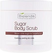 Düfte, Parfümerie und Kosmetik Körperpeeling mit Kristallzucker - Bielenda Professional Body Program Sugar Body Scrub