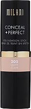 Düfte, Parfümerie und Kosmetik Concealer & Foundation Stick - Milani Conceal + Perfect Foundation Stick