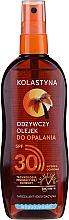 Düfte, Parfümerie und Kosmetik Wasserdichtes Bräunungsöl SPF 30 - Kolastyna