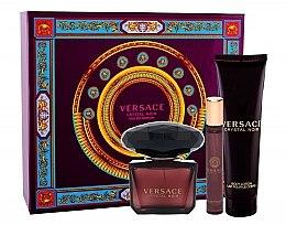 Düfte, Parfümerie und Kosmetik Versace Crystal Noir - Duftset (Eau de Parfum 90ml + Körperlotion 150ml + Eau de Toilette 10ml)