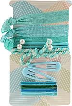 Düfte, Parfümerie und Kosmetik Haarschmuck-Set blau-grün - Avon