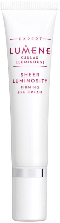 Straffende und stärkende Augenkonturcreme - Lumene Kuulas Firming Eye Cream — Bild N1