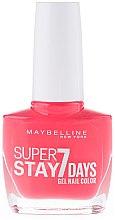 Düfte, Parfümerie und Kosmetik Nagellack - Maybelline Super Stay 7 Days Gel Nail Color