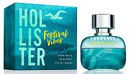 Hollister Festival Vibes For Him - Eau de Toilette — Bild N1