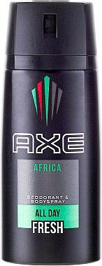 "Deospray ""Africa"" - Axe Africa Deodorant Body Spray — Bild N1"