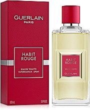 Düfte, Parfümerie und Kosmetik Guerlain Habit Rouge - Eau de Toilette