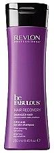 Düfte, Parfümerie und Kosmetik Wiederherstellendes Shampoo für sehr trockenes und strapaziertes Haar mit Keratin - Revlon Professional Be Fabulous Hair Recovery Keratin Shampoo