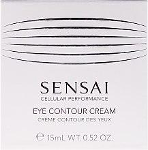 Düfte, Parfümerie und Kosmetik Festigende und feuchtigkeitsspendende Anti-Aging Augenkonturcreme gegen Schwellungen und dunkle Ringe - Kanebo Sensai Cellular Performance Eye Contour Cream