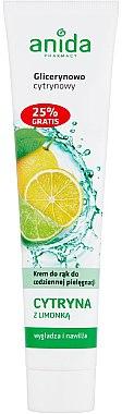 Handcreme mit Zitrone - Anida Pharmacy Lemon Hand Cream — Bild N1