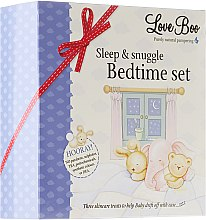 Düfte, Parfümerie und Kosmetik Set - Love Boo Sleep & Snuggle Bedtime Set (lotion/50ml + spray/100ml + bath/foam/50ml)