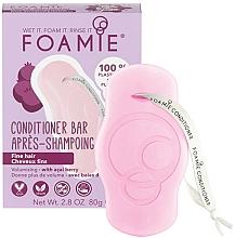 Düfte, Parfümerie und Kosmetik Fester Volumen-Conditioner mit Acaibeeren für dünnes Haar - Foamie Youre Adorabowl
