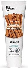 Düfte, Parfümerie und Kosmetik Zahnpasta mit Zimt - The Humble Co. Natural Toothpaste Cinnamon