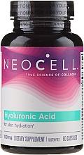 Düfte, Parfümerie und Kosmetik Nahrungsergänzungsmittel Hyaluronsäure 100 mg 60 Kapseln - NeoCell Hyaluronic Acid