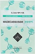 Düfte, Parfümerie und Kosmetik Feuchtigkeitsspendende und beruhigende Sauerstoffmaske für das Gesicht - Etude House Therapy Air Mask Madecassoside