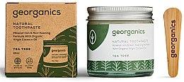 Düfte, Parfümerie und Kosmetik Natürliche Zahnpasta mit Teebaum-Geschmack - Georganics Tea Tree Natural Toothpaste
