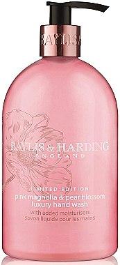 "Flüssige Handseife ""Schöllkraut"" - Baylis & Harding Magnolia & Pear Blossom Hand Wash — Bild N1"