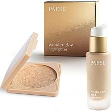 Düfte, Parfümerie und Kosmetik Make-up Set - Paese Wonder Glow Highlighter (Gesichts-Highlighter 7,5g + Flüssiger Highlighter 20ml)