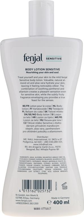 Körperlotion - Fenjal Sensitive Body Lotion — Bild N2
