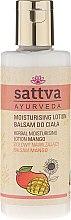 Düfte, Parfümerie und Kosmetik Körperlotion - Sattva Herbal Moisturising Lotion Mango
