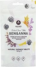 Düfte, Parfümerie und Kosmetik Natürliche Dusch-Tabletten - Ben&Anna Natural Velvet Body Wash Tablets