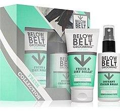 Düfte, Parfümerie und Kosmetik Körperpflegeset - Below The Belt Grooming Fresh & Dry Fresh (Intimpflegegel für Männer 75ml + Erfrischendes Intimspray 75ml)