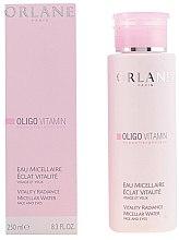 Düfte, Parfümerie und Kosmetik Mizellen-Reinigungswasser - Orlane Oligo Vitamin Vitality Radiance Micellar Water