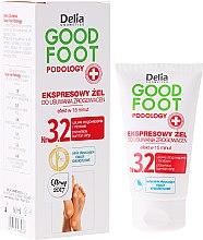 Düfte, Parfümerie und Kosmetik Gel Hornhautentferner - Delia Cosmetics Good Foot Podology Nr 3.2