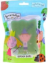 Düfte, Parfümerie und Kosmetik Kinder-Badeschwamm Ben & Holly Ben grün-rosa - Suavipiel Ben & Holly Bath Sponge