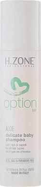 Mildes Shampoo für Kinder und Babys mit Aloe - H.Zone Option Delicate Baby Shampoo — Bild N3