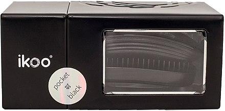Haarbürste - Ikoo Pocket Black Brush — Bild N5