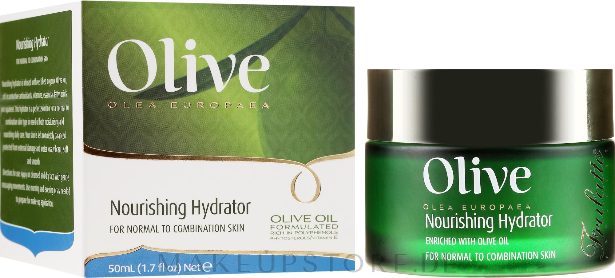 Pflegende Gesichtscreme mit Olivenöl - Frulatte Olive Oil Nourishing Hydrator — Bild 50 ml