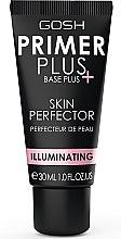 Düfte, Parfümerie und Kosmetik Primer für eine strahlende Haut - Gosh Primer Plus+ Illuminating Skin Perfector