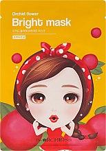 Düfte, Parfümerie und Kosmetik Aufhellende Tuchmaske - The Orchid Skin Orchid Flower Bright Mask