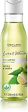 Düfte, Parfümerie und Kosmetik Shampoo für fettiges Haar mit Brennnessel und Zitrone - Oriflame Love Nature Shampoo