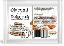 Düfte, Parfümerie und Kosmetik Natürliche Algenmaske mit Arganöl und Ghassoul-Ton - Nacomi Shaker Mask