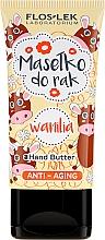 Düfte, Parfümerie und Kosmetik Anti-Aging Handbutter Vanille - Floslek Anti-Aging Wanilia Hand Butter