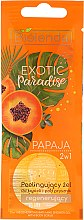 Düfte, Parfümerie und Kosmetik 2in1 Duschgel und Körperpeeling mit Papaya - Bielenda Exotic Paradise Shower Gel (Probe)