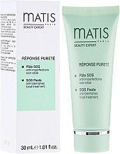 Düfte, Parfümerie und Kosmetik Anti-Makel-Gesichtspaste für unvollkommene Haut - Matis Paris Reponse Delicate Matis SOS Paste