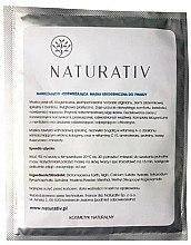 Düfte, Parfümerie und Kosmetik Feuchtigkeitsspendende und erfrischende kryogene Peel-Off Gesichtsmaske - Naturativ Face Mask