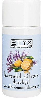Erfrischendes Duschgel mit Lavendel und Zitronenduft - Styx Naturcosmetic Lavender Lemon Shower Gel — Bild N1