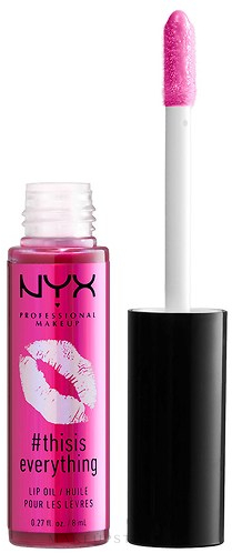 Lipgloss - NYX Professional Makeup Thisiseverything Lip Oil — Bild Sheer Berry