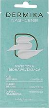 Düfte, Parfümerie und Kosmetik Bio feuchtigkeitsspendende Gesichtsmaske mit Meeresalgen, Jojoba- und Macadamiaöl - Dermika Plenitude Bio-Moisturizing Mask