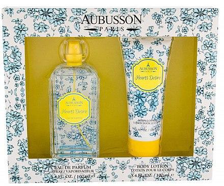 Aubusson Hearts Desire - Duftset (Eau de Parfum 100ml + Körperlotion 100ml) — Bild N1