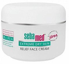 Düfte, Parfümerie und Kosmetik Gesichtscreme für sehr trockene Haut mit Harnstoff - Sebamed Extreme Dry Skin Relief Face Cream 5% Urea