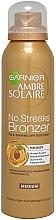 Düfte, Parfümerie und Kosmetik Selbstbräunungsspray mit Aprikosenextrakt - Garnier Ambre Solaire No Streaks Bronzer Medium Self Tan Body Mist