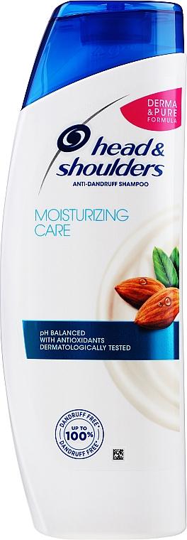 "Anti-Schuppen Shampoo ""Trockene Kopfhautpflege"" - Head & Shoulders Moisturizing Scalp Care"