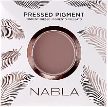 Matte Lidschatten - Nabla Pressed Pigment Feather Edition Matte Refill Eyeshadow (Austauschbarer Pulverkern) — Bild N1