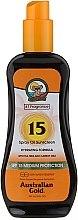 Düfte, Parfümerie und Kosmetik Sonnenschutzöl in Sprayform SPF 15 - Australian Gold Tea Tree&Carrot Oils Spray SPF15